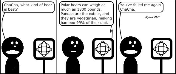 Guy: ChaCha, what kind of bear is best?